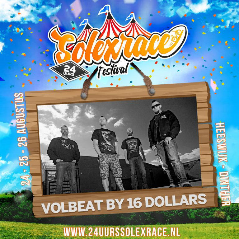 Volbeat by 16 Dollars