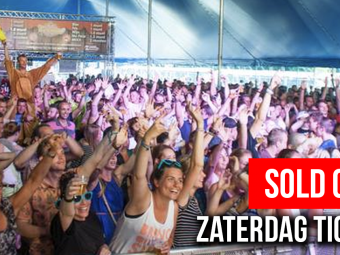 Zaterdag sold out